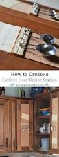 How To Make A Kitchen Cabinet Door How To Create A Cabinet Door Recipe Station Adventures Of Mel