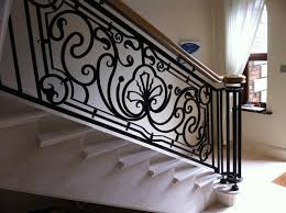 Banister Pole Wrought Iron Railings Do It Yourself To Repair Them Eva Furniture