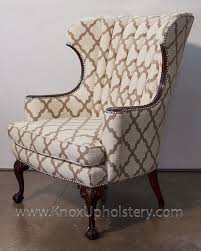 Nailhead Arm Chair Design Ideas Chair Design Ideas Upholstered Wingback Chair With Panel Arms