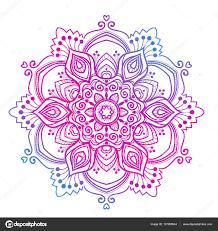 multicolored mandala ornament stock vector irska no 137908544
