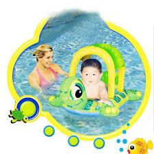 siege gonflable b bouée gonflable bébé enfant siège parasol tortue bateau piscine