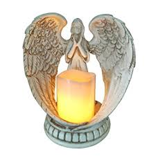 angel decorations for home amazon com guardian angel statue figurines collection fifriver
