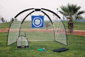 Golf Net For Backyard by Amazon Com 3 In 1 Golf Practice Set Golf Hitting Nets Sports
