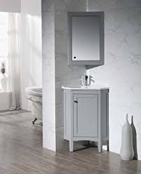 Bathroom Corner Vanity by 24