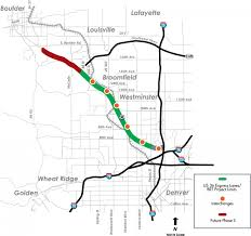 Illinois Toll Map by U S 36 Changing Commute Habits Through Infrastructure