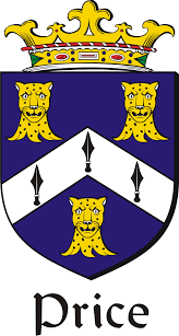 price family crest coat of arms image f