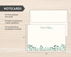 personalized stationery set personalized stationery sets purpletrail stationery