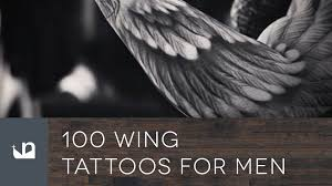 100 wing tattoos for