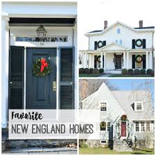 New England Homes by Favorite New England Homes Nesting With Grace