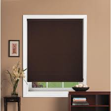 Blackout Roller Blind Bali Cut To Size Java Blackout Fabric Roller Shade 30 In W X 72