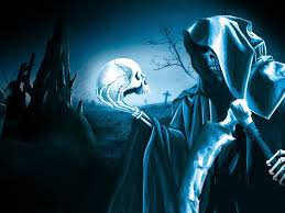 mystical halloween background grim reaper wallpapers live wallpapersafari