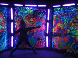 black light party ideas glow in the and black light party ideas hubpages