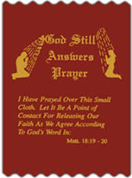 prayer cloth prayer cloths and anointing