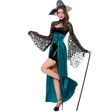 womens witch costume deluxe magic costume glomour witch