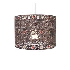 Bronze Ceiling Light Decor Excellent Moroccan Pendant Light Magnificent Design For
