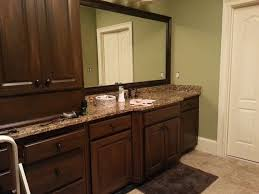 how to repaint bathroom cabinets gorgeous painting bathroom cabinets dark brown 18708 home designs
