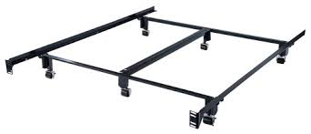 Support Bed Frame Milliard Heavy Duty Metal Bed Frame With Rug Rollers