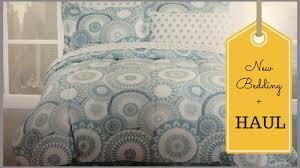 Kohls Bed Linens - new bedding set ditl vlog haul from target kohls ross 5 30