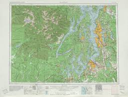 Seattle Washington Map by Leveling The Hills Of Seattle 1907 X Post From R Colorization