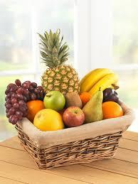 fruit in a basket fruit basket get well flowers