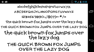 fonts for flipfont 50 written android apps on google play