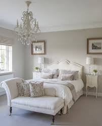 a classic chaise longue in a guest bedroom interiors