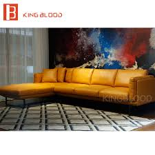 Cheap Leather Couches Online Get Cheap Leather Sofa Yellow Modern Aliexpress Com