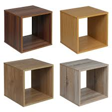 6 Cube Step Storage by Oak Cube Storage Ebay