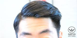 asian combover 2 hairstyles for asian hair high volume quiff comb over side