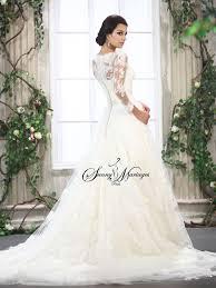 robes de mariée dentelle le mariage - Robe De Mari E Dentelle Manche Longue