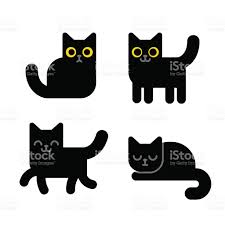 cartoon black cat stock vector art 620705368 istock