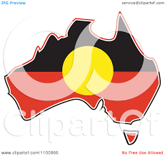 australian aboriginal flag clipart clipart collection