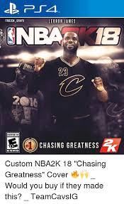 Meme Custom - frozen grafx everyone 10 esrb lebron james chasing greatness custom