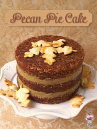 bird on a cake pecan pie cake