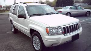 silver jeep grand cherokee 2001 2004 jeep grand cherokee limited 4x4 for sale with 61 782 miles