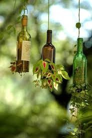 Diy Wine Bottle Decor by Diy Wine Bottle Ideas For The Garden 26 Wine Bottle Uses