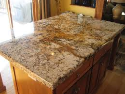 Laminate Flooring As Countertop Rectangular Brown Granite Countertop With Pencil Edges Above Brown