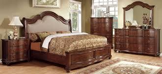 brown cherry bedroom set