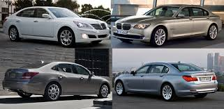 bmw 740 vs lexus ls 460 hyundai equus vs cpo bmw 7 series