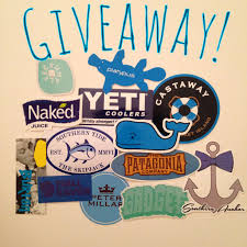 preppy decals sticker giveaway emailing companies for free stuff