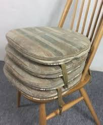 Ercol Dining Chair Seat Pads Set Of 4 Vintage Ercol Dining Chair Seat Pad Cushions Free Uk