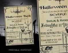 Halloween Costume Party Invitations Halloween Party Invitation Diy Halloween Invitations