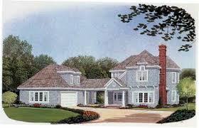 House Plans With Breezeway Cape Cod Style House Plans Plan 58 181