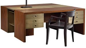 Modern Partners Desk The Ultimate Partner Desk Robb Report