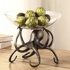 housewarming wedding gift idea glass fruit bowl centerpiece basket w stand for housewarming
