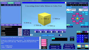 Meters To Feet by Elementary Math Convert Cubic Meters To Cubic Feet Youtube