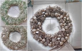 my trash and treasure advent wreath diy