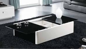 15 ideas modern glass coffee table