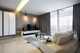 alluring modern curtain living room ideas fancy decorating home