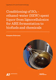 PDF Conditioning of SO2 ethanol water SEW spent liquor from